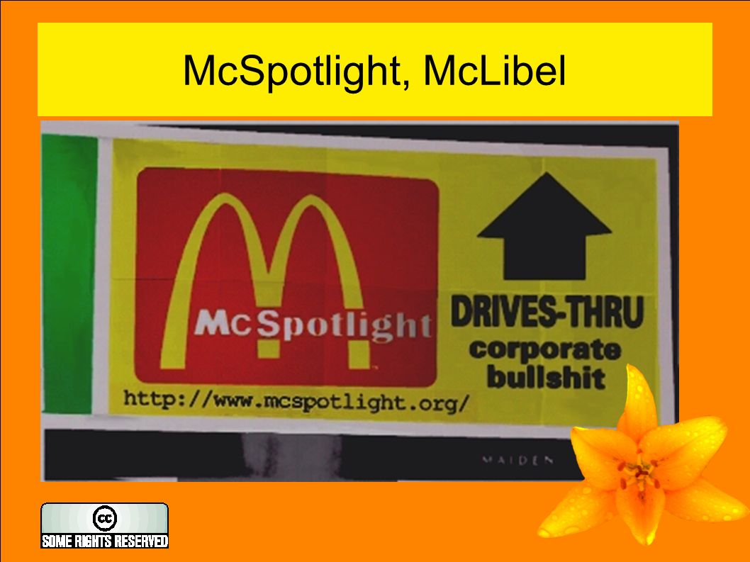 McSpotlight, McLibel