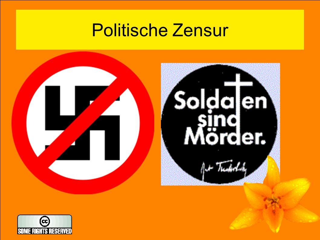Politische Zensur