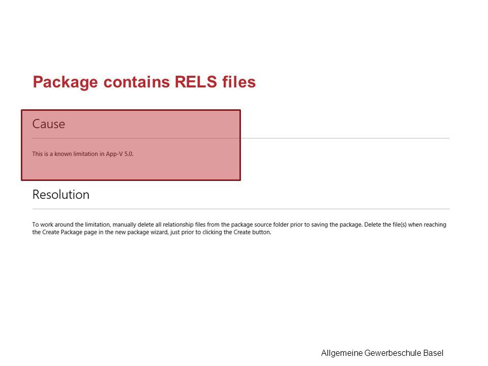Package contains RELS files Allgemeine Gewerbeschule Basel
