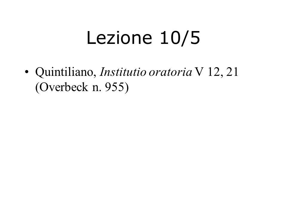 Lezione 10/6 RE = Paulys Realencyclopädie der Classischen Altertumswissenschaft, unter mitwirkung zahlreicher fachgenossen herausgegeben von Georg Wissowa Der Kleine Pauly.