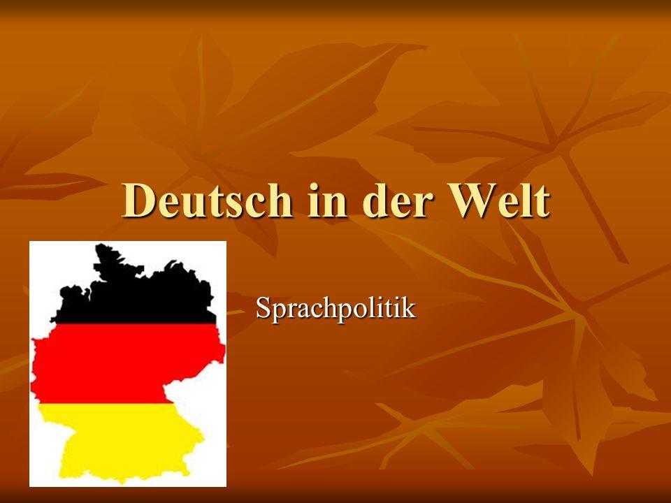 TOP 10 der Deutschlerner weltweit in absoluten Zahlen PlatzLandAnzahl 1.
