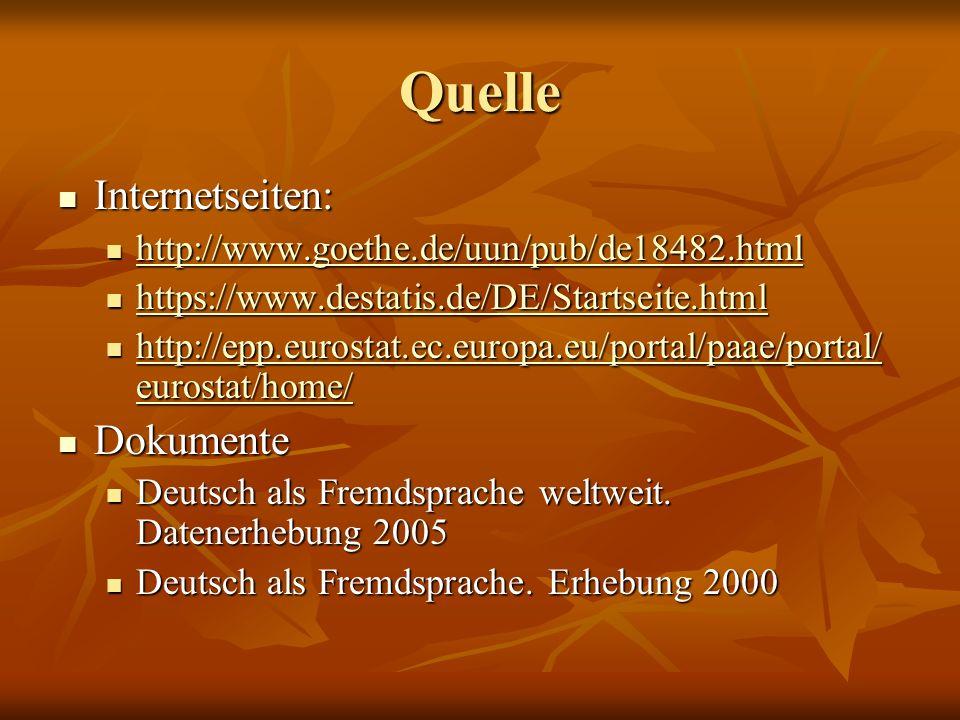 Quelle Internetseiten: Internetseiten: http://www.goethe.de/uun/pub/de18482.html http://www.goethe.de/uun/pub/de18482.html http://www.goethe.de/uun/pu