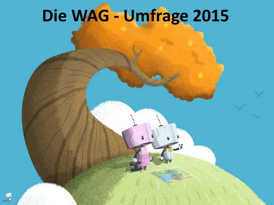 Die WAG - Umfrage 2015