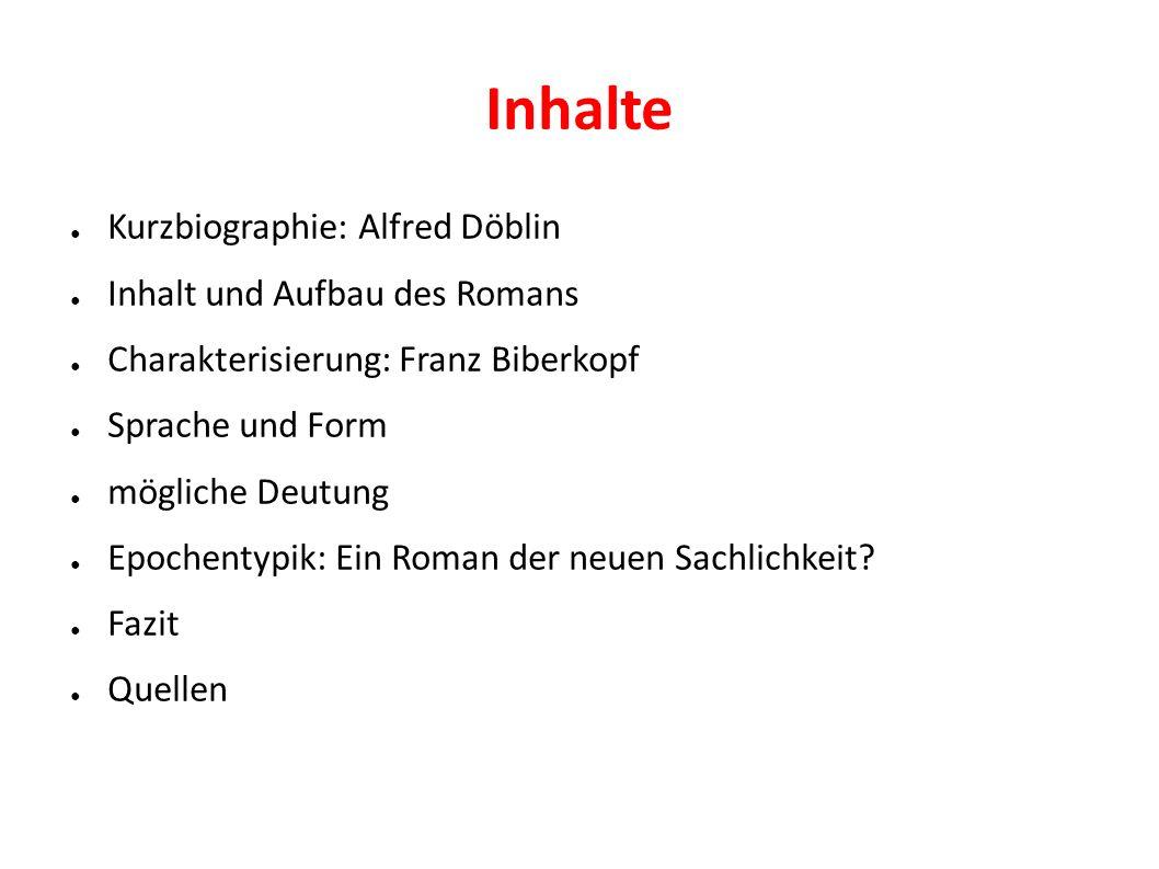 Alfred Döblin ● geb.10.