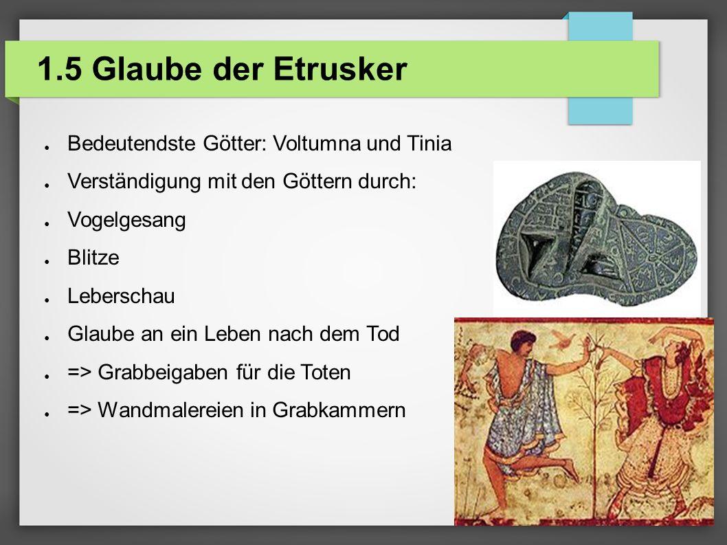 2.1 Die Sage von Remus und Romulus ● Gründung Roms : 753 v.