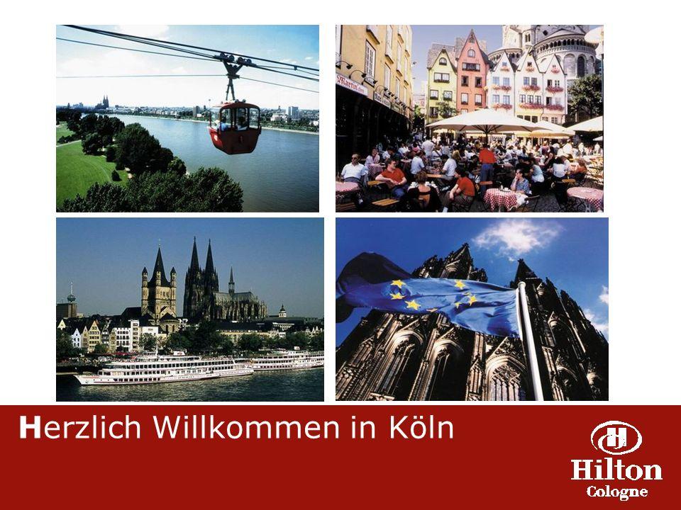 Herzlich Willkommen in Köln