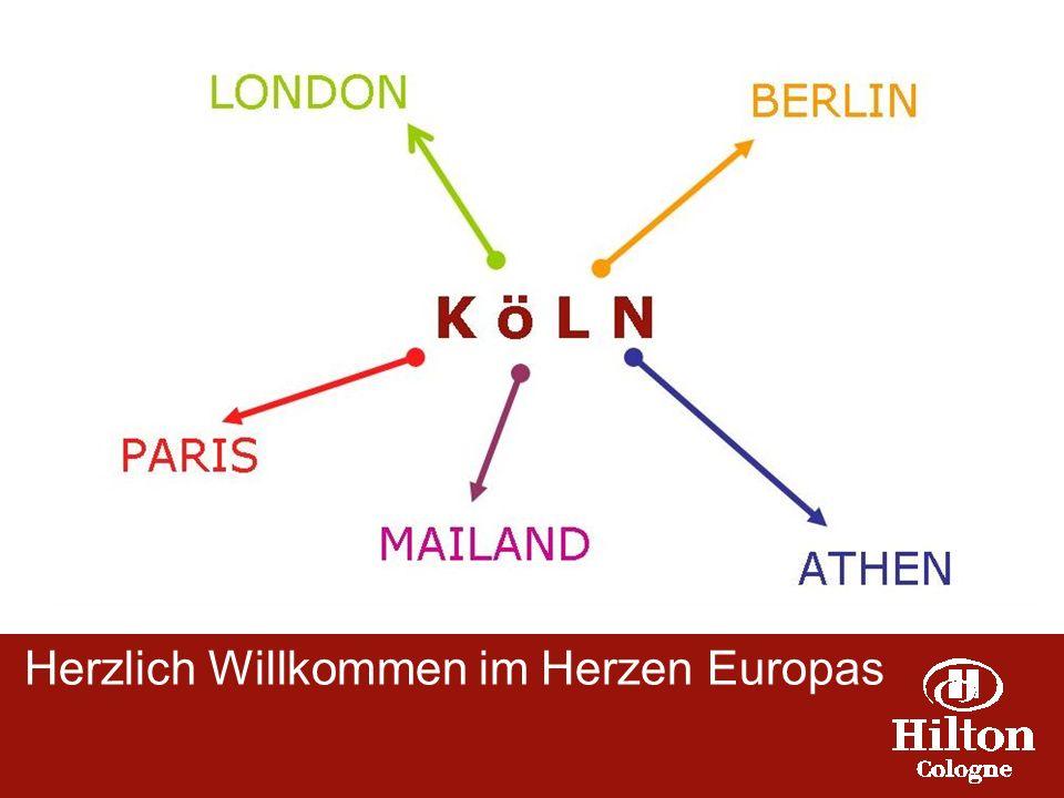 Herzlich Willkommen im Hilton Cologne