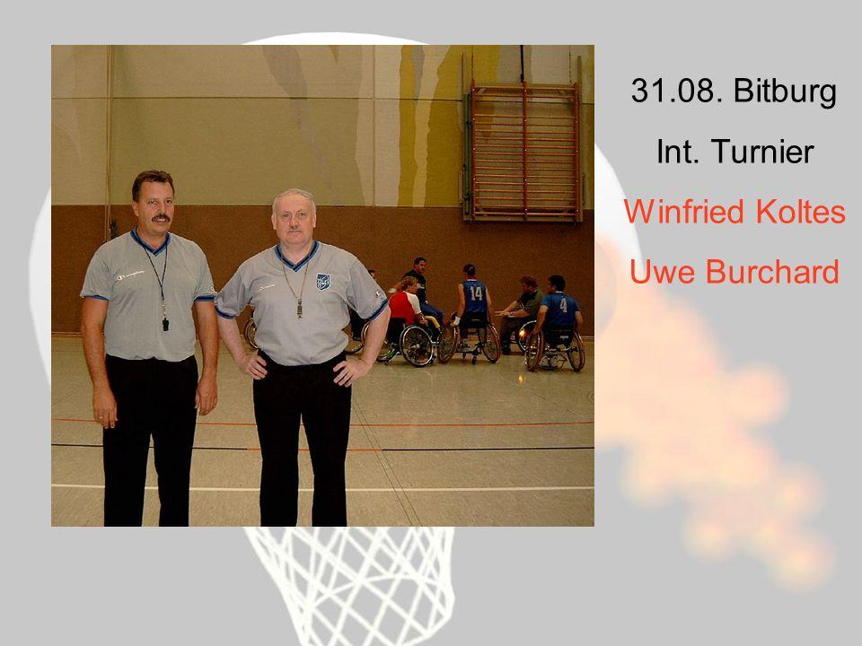 31.08. Bitburg Int. Turnier Winfried Koltes Uwe Burchard