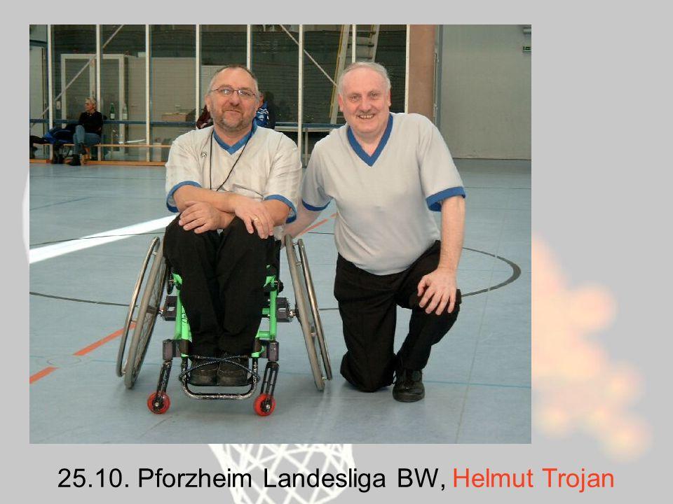 25.10. Pforzheim Landesliga BW, Helmut Trojan