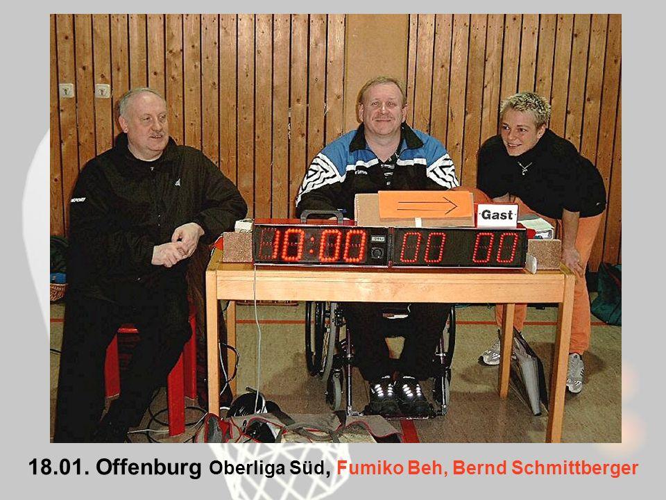 18.01. Offenburg Oberliga Süd, Fumiko Beh, Bernd Schmittberger