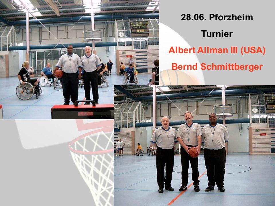28.06. Pforzheim Turnier Albert Allman III (USA) Bernd Schmittberger
