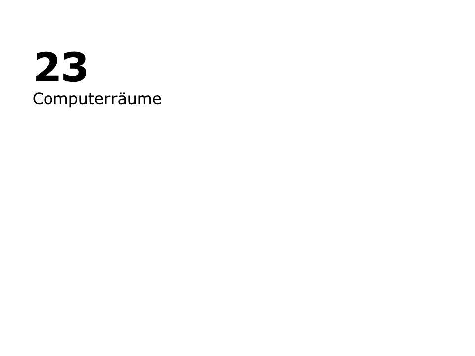 23 Computerräume