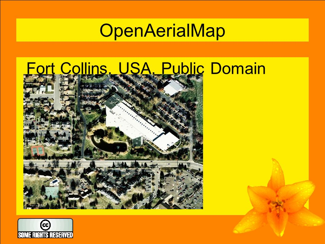 8 OpenAerialMap Fort Collins, USA, Public Domain