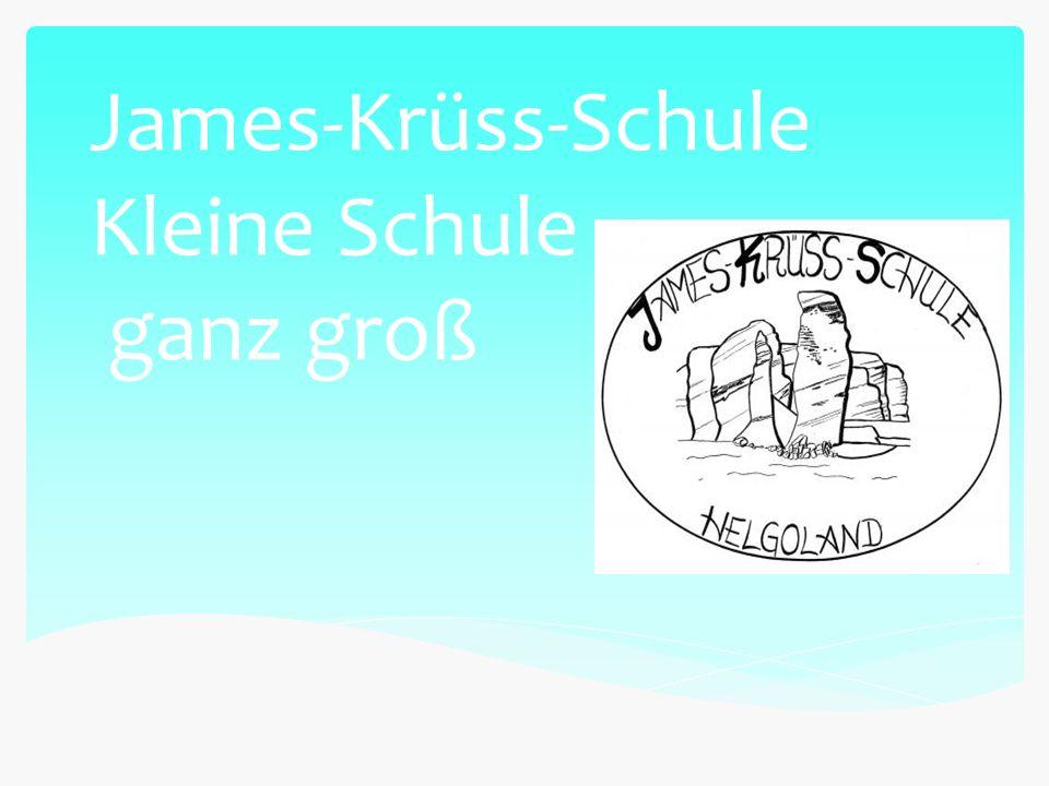 James-Krüss-Schule Kleine Schule ganz groß