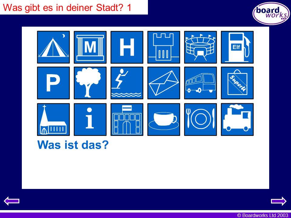 © Boardworks Ltd 2003 Ich wohne in Norddeutschland.