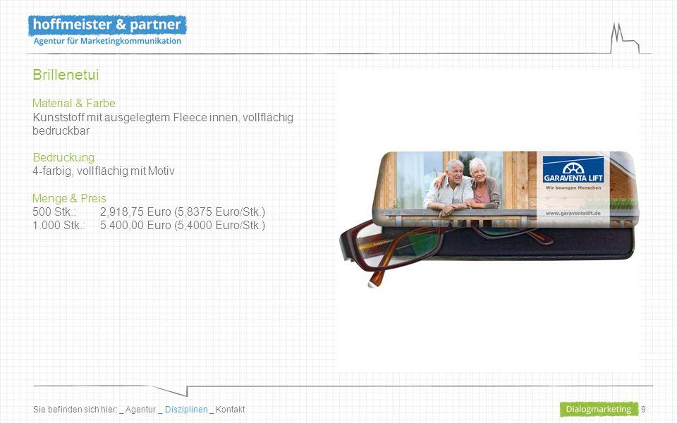 10 Kugelschreiber Material & Farbe Kunststoff, Farbe weiß/blau, Mine blau Bedruckung 1-farbig im weißen Teil bedruckbar Menge & Preis 1.000 Stk.: 681,50 Euro (0,6815 Euro/Stk.) 2.000 Stk.: 1.305,00 Euro (0,6525 Euro/Stk.) 3.000 Stk.:1.957,50 Euro (0,6525 Euro/Stk.) Sie befinden sich hier: _ Agentur _ Disziplinen _ Kontakt