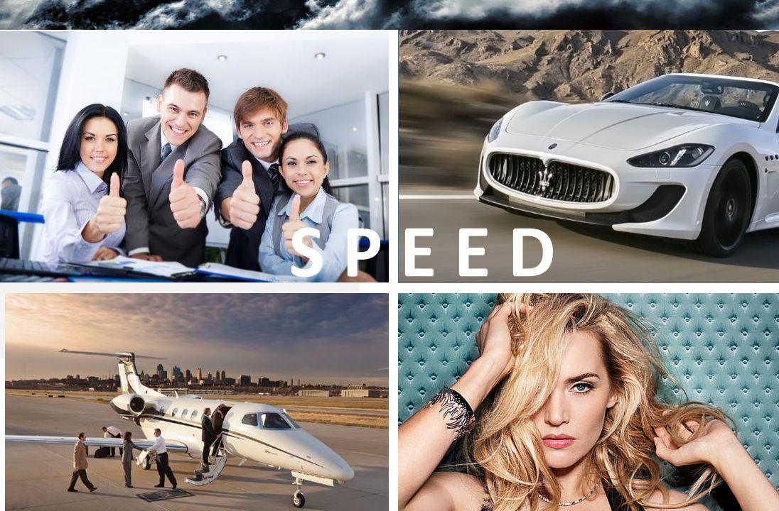S P E E D Die Wirkung von «Speed» setzt rasch ein.