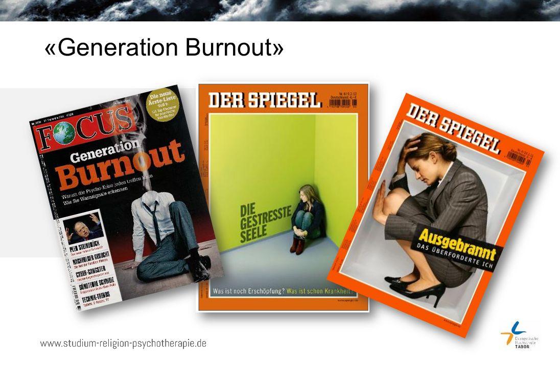 «Generation Burnout»