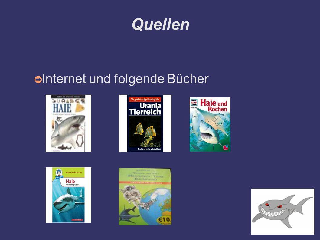 Quellen ➲ Internet und folgende Bücher