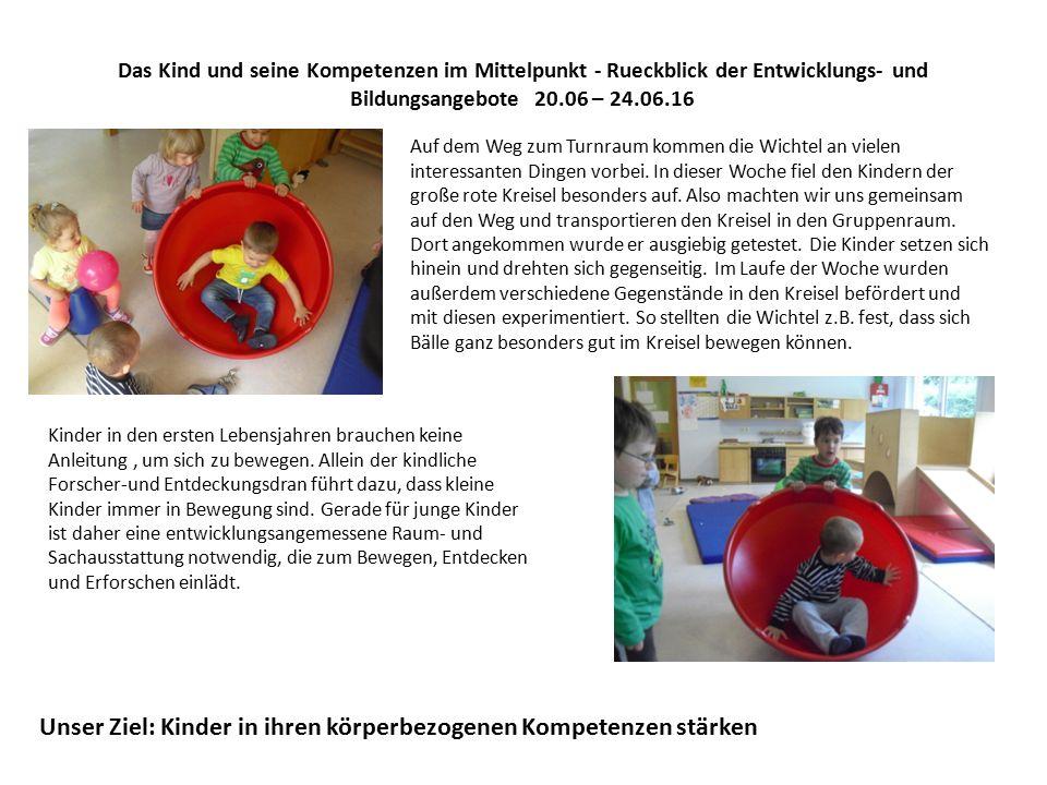 Das Kind und seine Kompetenzen im Mittelpunkt - Rueckblick der Entwicklungs- und Bildungsangebote 20.06 – 24.06.16 Diese Woche haben zwei der Wichtelkinder einen Luftballon mitgebracht, was die Kinder den Wunsch äußern ließ, noch mehr Ballons aufzublasen.