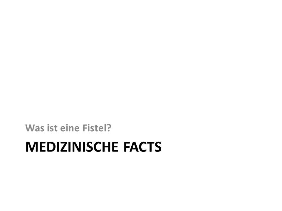 MEDIZINISCHE FACTS Was ist eine Fistel?