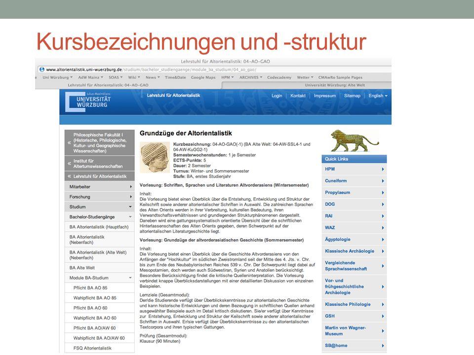 Moodle-Kursraum (WueCampus) SS14_GVAG Passwort für Gastzugang: lurubam