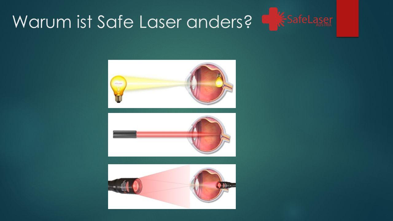 Warum ist Safe Laser anders