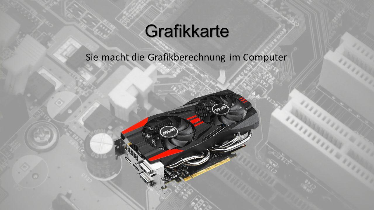 Prozessor Rechnet die Daten im Computer aus