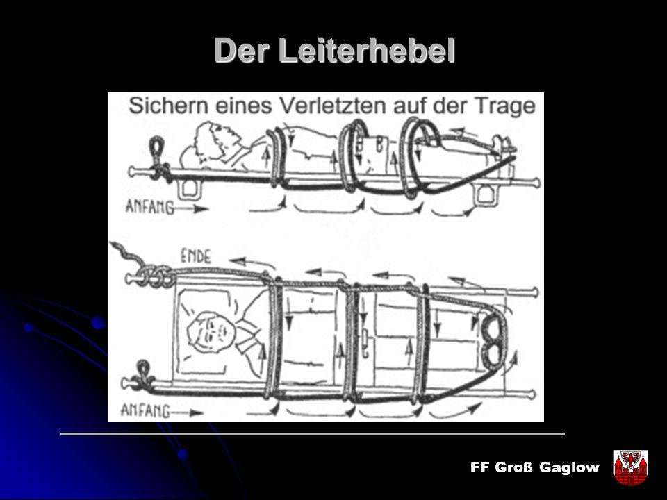 FF Groß Gaglow Der Leiterhebel