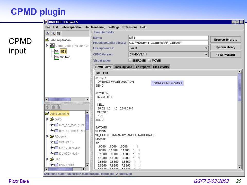  Hier klicken, um Master-Textformat zu bearbeiten.  Zweite Ebene GGF7 5/03/2003Piotr Bała25 Amber 6.0 plugin Find parameter button