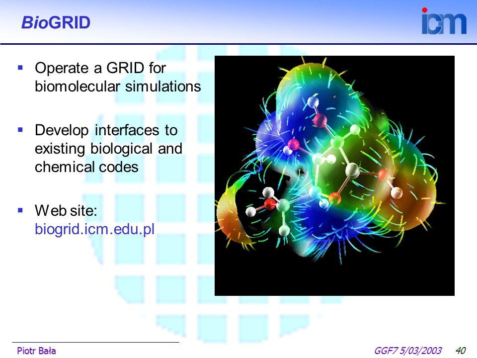  Hier klicken, um Master-Textformat zu bearbeiten.  Zweite Ebene GGF7 5/03/2003Piotr Bała39 List All Jobs Plugin