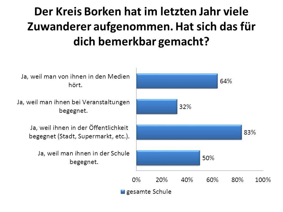 Was sind deine Ängste bei der neuen Situation mit den Flüchtlingen in Deutschland?