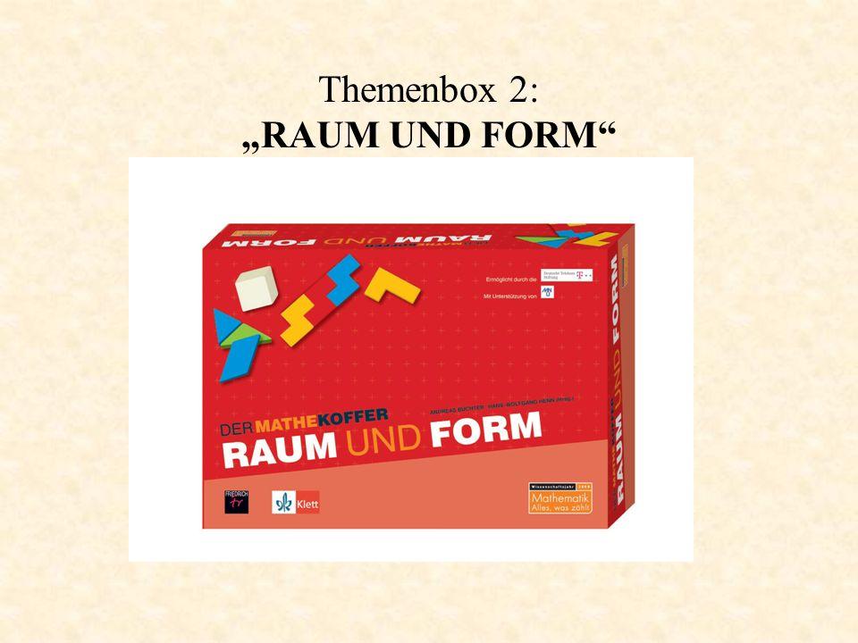 """Themenbox 2: """"RAUM UND FORM"""