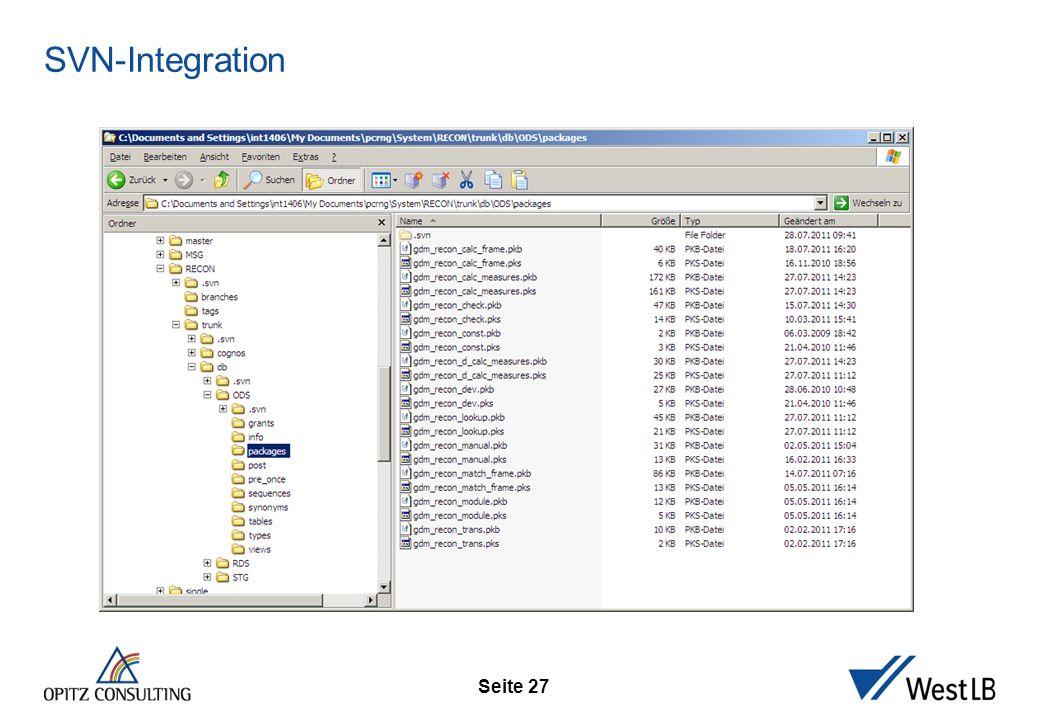 Seite 27 SVN-Integration