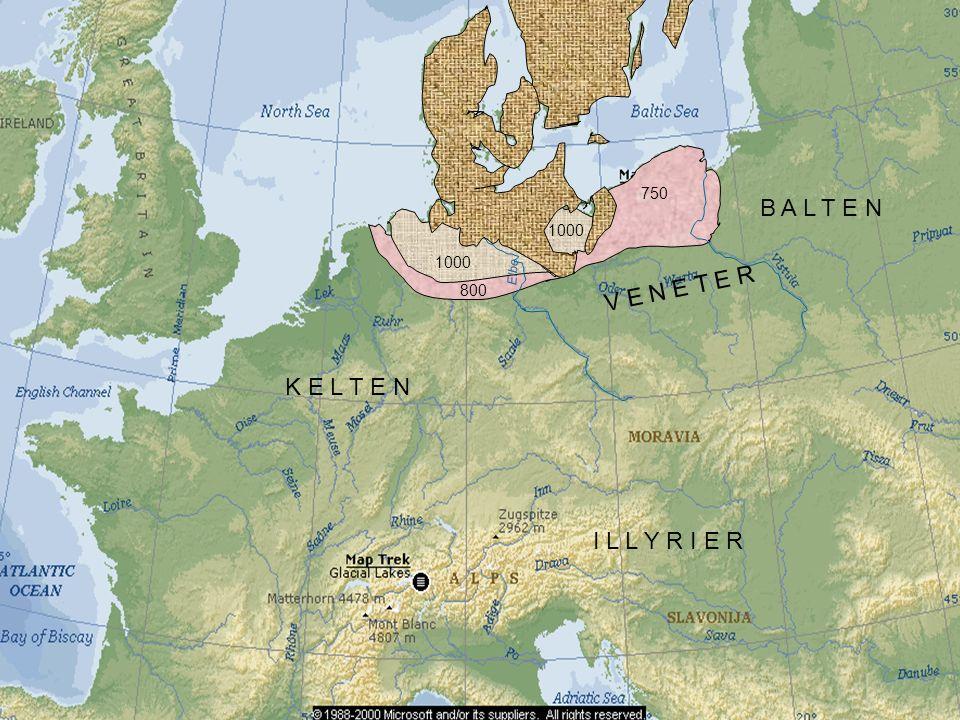 Elbe 1000 800 1000 750 K E L T E N V E N E T E R I L L Y R I E R B A L T E N