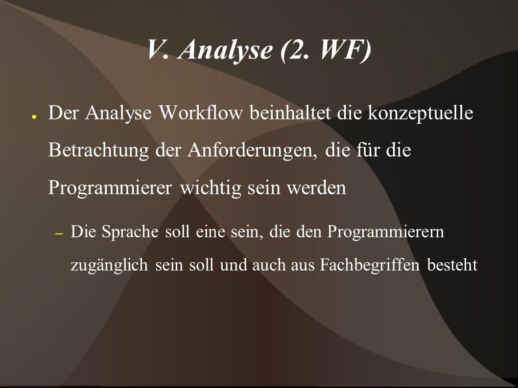 V. Analyse (2.