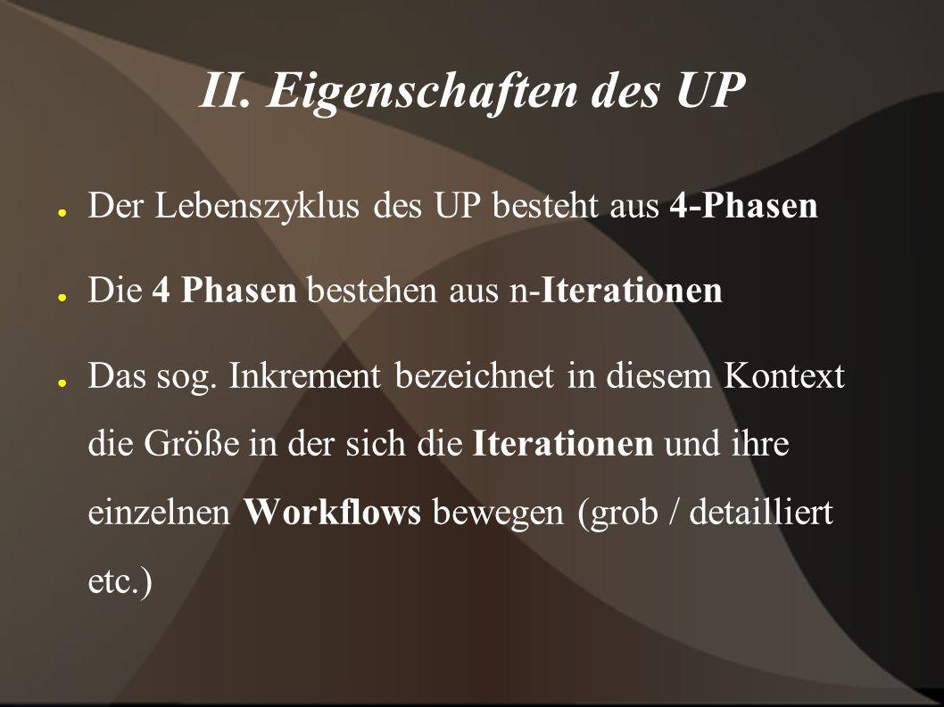 III. Workflows / Models ● Jeder Workflow erzeugt ein Model