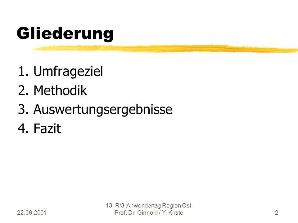 22.06.2001 13. R/3-Anwendertag Region Ost, Prof. Dr.