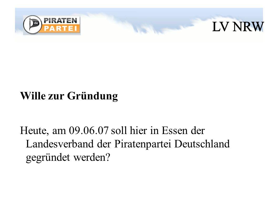 LV NRW Meinungsbild / Abstimmung Gäste zulassen ?