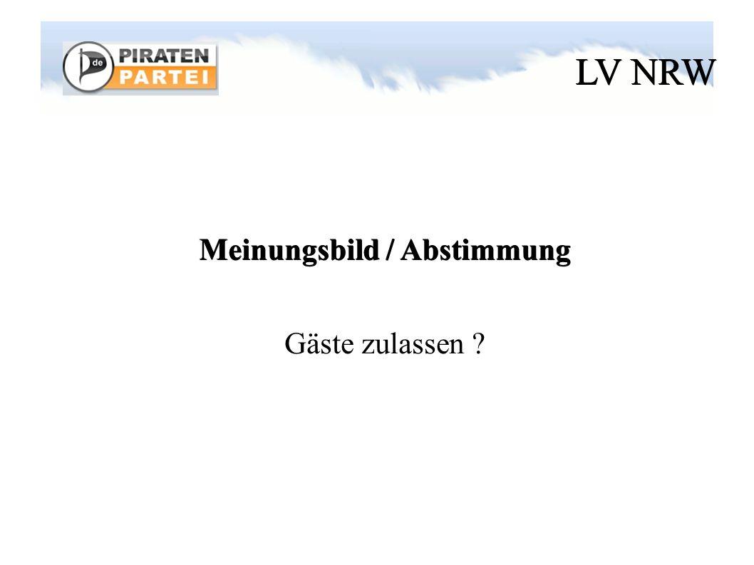 LV NRW Name * Piratenpartei Deutschland NRW * Piratenpartei Deutschland Nordrhein-Westfalen * Piratenpartei Deutschland NW * Piratenpartei Deutschland Landesverband Nordrhein-Westfalen * etc.