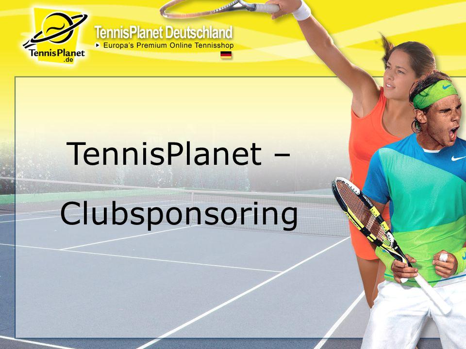 TennisPlanet – Clubsponsoring