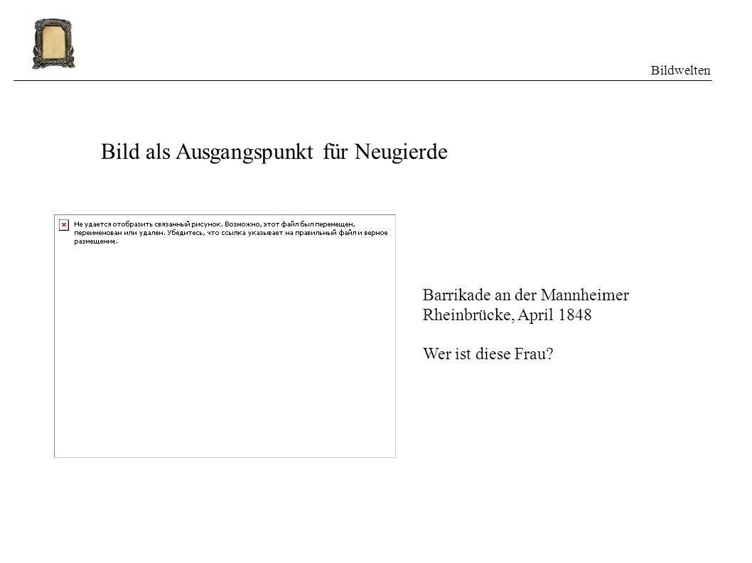 Bildwelten Zweiter Teil: Bilddatenbanken Geschichte: www.dhm.de