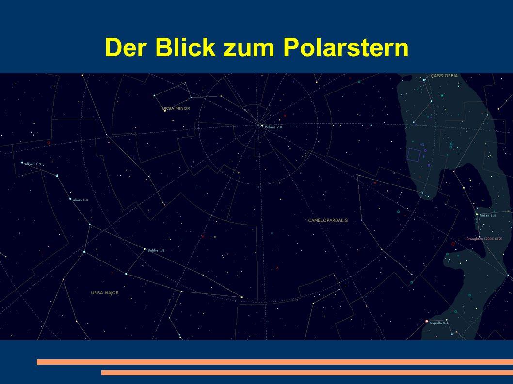 Der Blick zum Polarstern