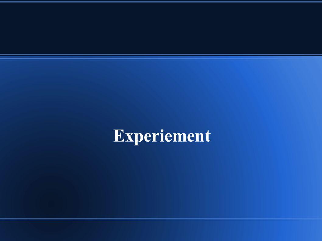 Experiement