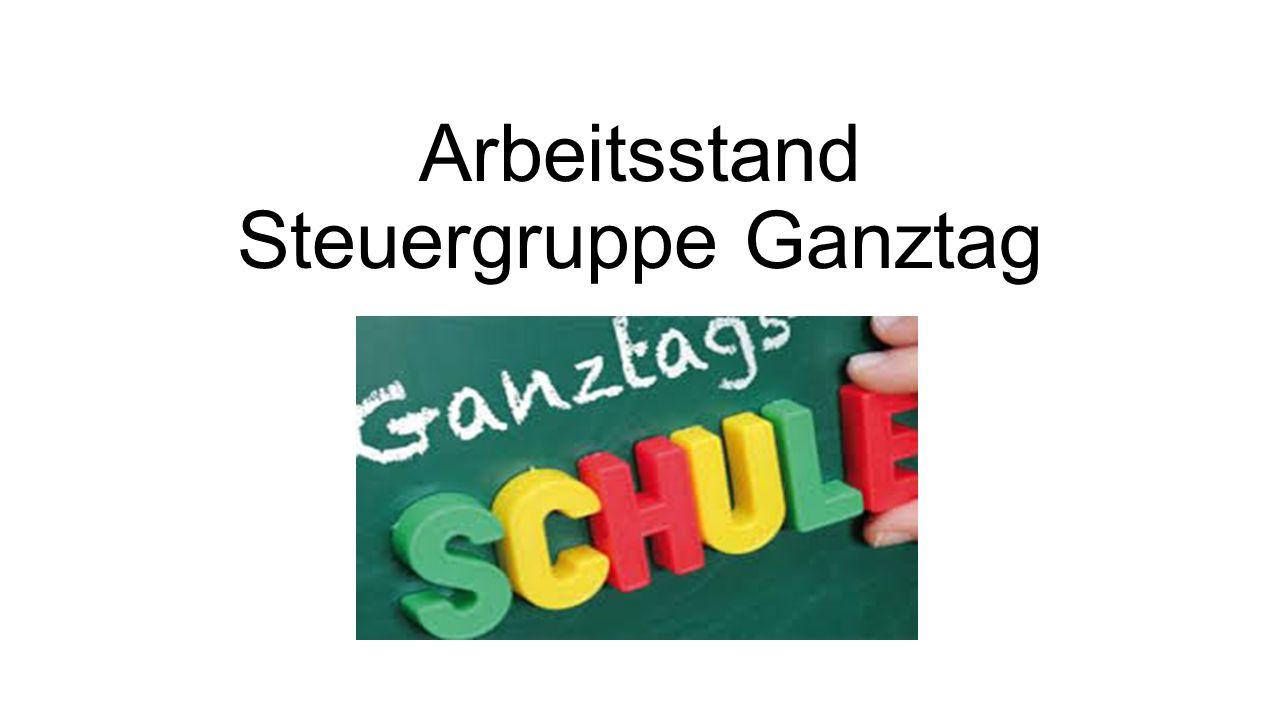 Ganztagskonzept 1.Teilgebundene Ganztagsschule – Die Teilnahme ist für einen Teil von Klassen und Jahrgangsstufen verpflichtend.