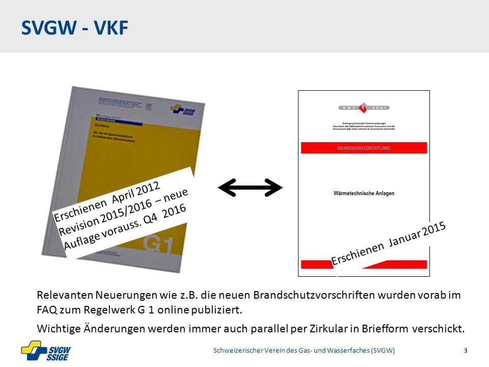 1/32/31/2Right11.60Left 11.601/2 7.60 Placeholder 6.00 6.80 Placeholder title Placeholder Top 9.20 Bottom 9.20 Center 0.80 1/4 3/4 SVGW - VKF Schweizerischer Verein des Gas- und Wasserfaches (SVGW)3 Erschienen Januar 2015 Erschienen April 2012 Revision 2015/2016 – neue Auflage vorauss.