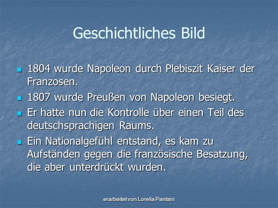 erarbeitet von Lorella Pantani 1814-1815 fand der Wiener Kongress statt.