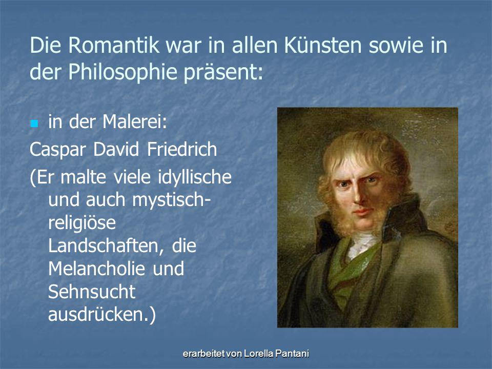 erarbeitet von Lorella Pantani in der Musik (die wahre Kunst/ beliebteste Form= das Lied  Verschmelzung von Dichtung und Musik) : Franz Schubert (1797-1828)
