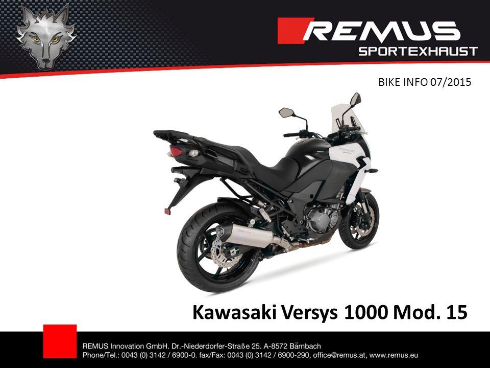 Kawasaki Versys 1000 Mod. 15 BIKE INFO 07/2015