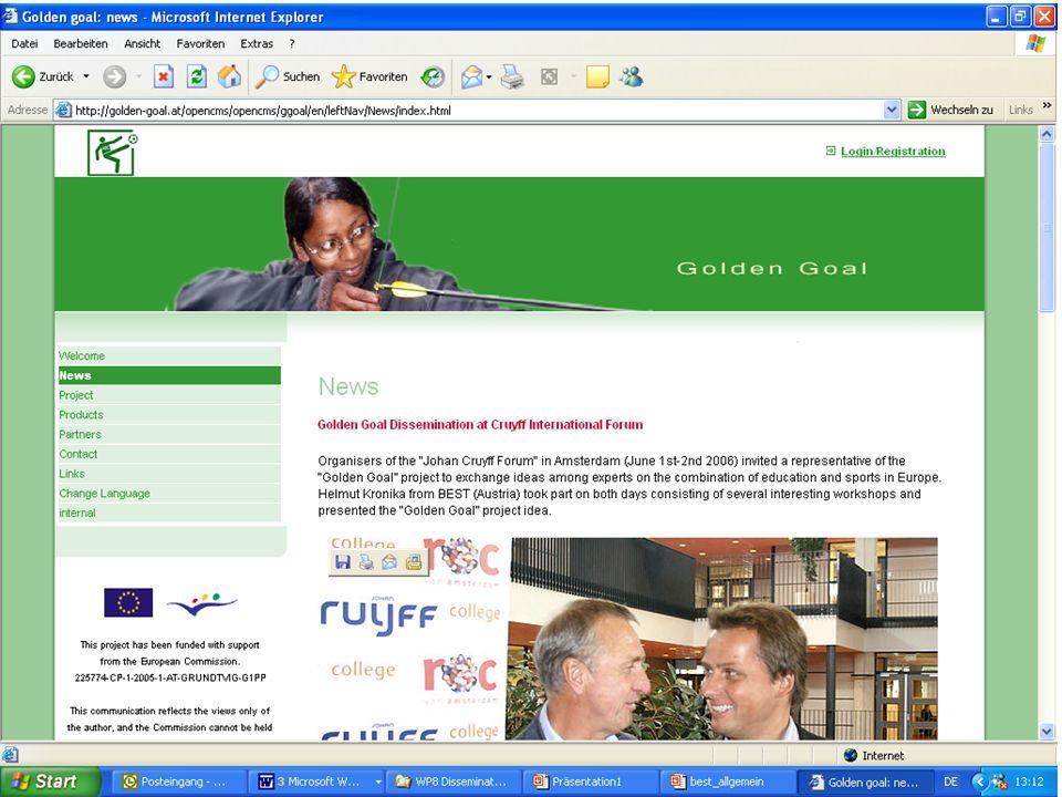 http://www.golden-goal.at Kontakt: Helmut Kronika Email: projekte@best-training.com